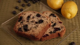 Lemony Blueberry Zucchini Loaf