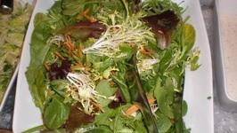 Lamb's Lettuce and Asparagus Salad