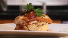 Mahi Mahi with Spicy Jalapeno Plum Chutney and Cous Cous