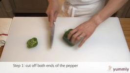 Tips To Cut A Pepper