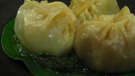 Momo-cha (Nepali Meat Dumplings)