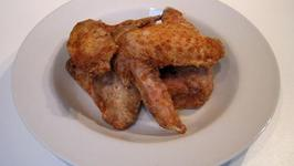 Microwave Crispy Oriental Chicken Wings