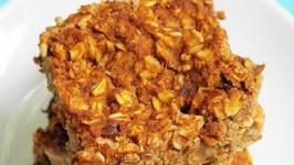 Quarterback Crunch Peanut Butter Bars