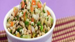 Minty Bean Salad by Tarla Dalal