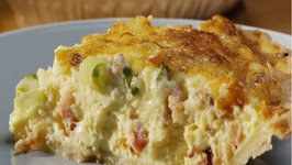 Baconn Cheddar Breakfast Pie