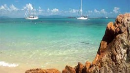 Sailing the Whitsunday Islands of the Great Barrier Reef in Queensland Australia