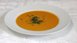 Low Fat Vegan Creamy Pumpkin Soup