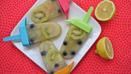 Lemonade Fruit Popsicles