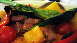 Thai Red Curry with Duck and Pineapple