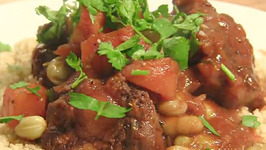 Braised Oxtail with Broad Beans in Exotic Spices