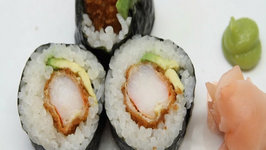 How to Make Sushi - Shrimp Fry Rolls