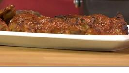 Bold BBQ-Basted Turkey Thighs