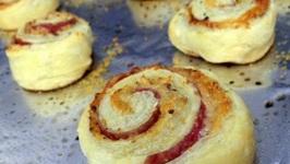 Cheese & Bacon Pinwheels