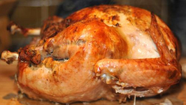 Roasted Turkey With Chestnut Stuffing