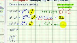 Ex:  Simplify Exponential Expressions - Product and Power Rule