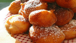 Sufganiyot Ricotta Doughnut Holes