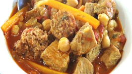 Spicy Pork and Sausage Stew