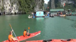Kayaking Along Scenic Ha Long Bay, Vietnam Travel Video  Adventure Travel & Sports in Vietnam