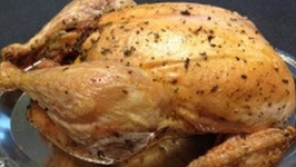 TBT Perfect Roasted Chicken W/ Lemon/Herbs