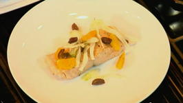 Olive Oil Poached Salmon