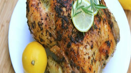 Lemon Garlic & Rosemary Roasted Chicken