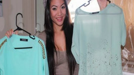 Fall Fashion Outfits: Mint Green