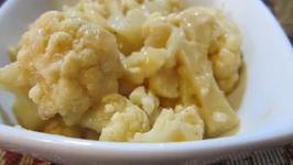 Low Calorie Cauliflower Au Gratin