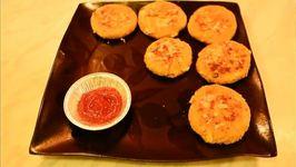 Poached Chicken Potato Patties
