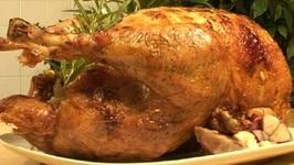 Roast Turkey With Sausage Apple Stuffing