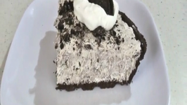 No Bake Oreo Cookie Pie Recipe