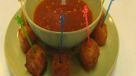 Betty's Fried Cheddar Cheese Cubes--Super Bowl!