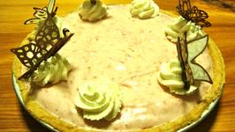 Homemade Strawberry Chiffon Pie