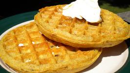 Ginger Waffles