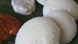 Homemade Soft and Spongy Idli
