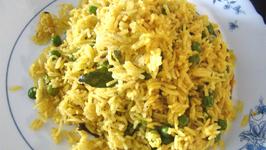 Batani Bhaat /Peas Bhaat