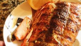 Phuket Grilled Smoked Salmon