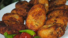 Chicken Cutlet/Vegetable Cutlets/ Fish Cutlets