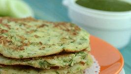 Cucumber Soya Pancake (Healthy Breakfast)