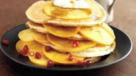Persimon Pancake Stack