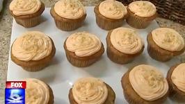Homemade Carrot Cupcakes