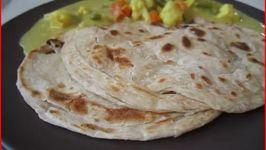 Parotta - South Indian Layered Bread