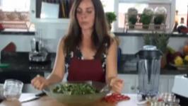 Kale and Bok Choy Salad
