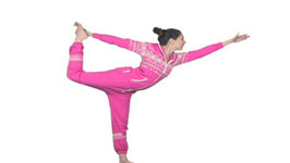 Dancer Pose - Cosmic Kids yoga posture of the week