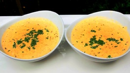 Creamy LOW CARB Squash and Mint Soup