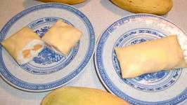Sweet Mango Pancake