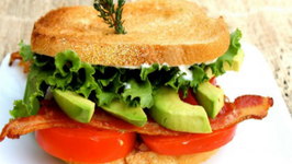 BLT with Avocado and Lemon Thyme Mayo