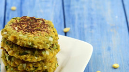 Chana Dal and Cabbage Tikki (Diabetic Snack)