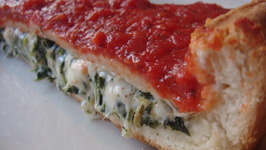 Cheesy Enchilada Pizza