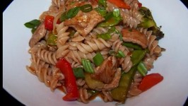 Gluten-Free One Pot Asian Style Pork and Noodles