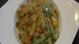 How to Make Quinoa Pilaf / Indian